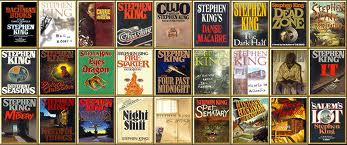 Stephen King collection graphic